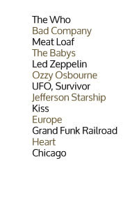 Ron Nevison credits